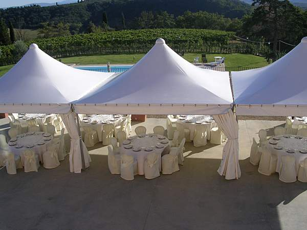 Full rental services for ceremonies